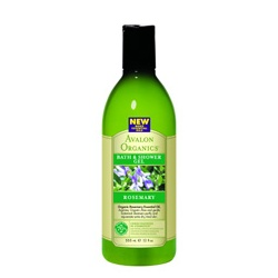 AVALON ORGANICS  沐浴清潔-迷迭香沐浴露 Organic Rosemary Bath & Shower Gels