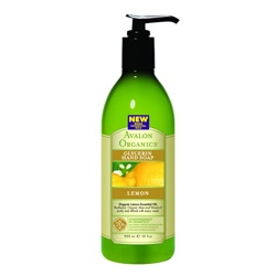 AVALON ORGANICS  手部清潔-檸檬洗手露 Organic Lemon Glycerin Hand Soap