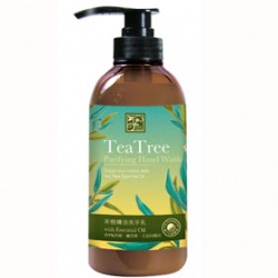 Justherb 香草集 手部清潔-茶樹精油洗手乳 Teatree Purifying Hand Wash With Essential Oil