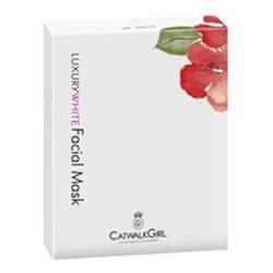CatwalkGirl  奢華美白系列-奢華美白生物纖維面膜 Luxury White Facial Mask