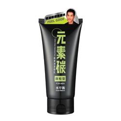 hydrobalance 水平衡 男仕臉部保養-元素碳高潔淨潔面乳(微粒型)FOR MEN Carbon Deep Cleansing Foam / Scrub(For Men)
