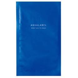 AQUA LABEL 水之印 晶透白系列-瞬間透亮面膜