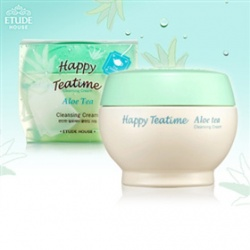 ETUDE HOUSE  臉部卸妝-午茶時光清爽卸妝霜 HAPPY TEA TIME CLEANING CREAM