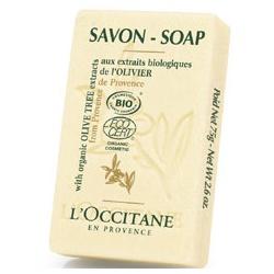 L'OCCITANE 歐舒丹 有機橄欖系列-橄欖沐浴皂(有機) SOAP