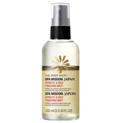 The Body Shop 美體小舖 SPA能量系列-日本SPA杏桃保濕芳香噴霧 SPA WISDOM TM JAPAN APRICOT & RICE FINSHING MIST