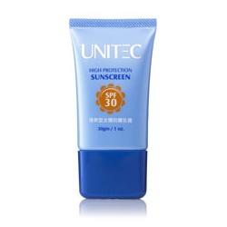 彤妍清爽型全護防曬乳霜 SPF30 UNITEC Hign Protection Sunscreen SPF30