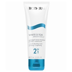 Biotherm 碧兒泉 肌因還原極淨白系列-肌因還原極淨白喚膚褪黑面膜