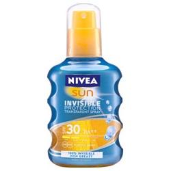 NIVEA 妮維雅 身體防曬-輕感隱形防曬噴露SPF30/PA++
