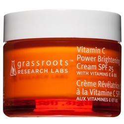 grassroots research labs 果然美研 乳霜-靚顏C淨白無瑕日霜 SPF25 Vitamin C Power Brightening Cream SPF25