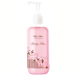 CHIC CHOC 奇可俏可 身體保養系列-親親甜莓沐浴乳 Berry Kiss shower gel