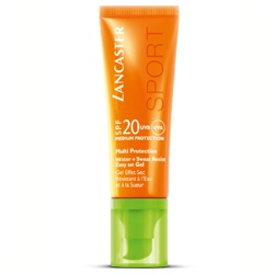 LANCASTER 身體防曬-綻陽輕透防曬凝露 SPF20 Water + Sweat Resist Easy on Gel SPF20