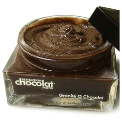 SENSATION chocolat 感覺巧克力 身體去角質-可可粒(身體去角質霜) Creamy exfoliating and draining body scrub with Cocoa butter
