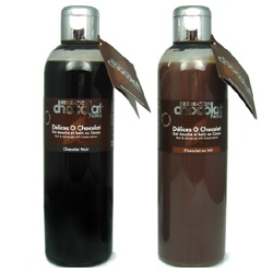 SENSATION chocolat 感覺巧克力 身體保養-感覺巧克力乳液 Dark & milk chocolate moisturizing body milks with Cocoa butter