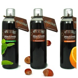 感覺巧克力沐浴乳 Shower gels - bubble baths with Cocoa bean extract