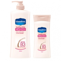 Vaseline 凡士林 身體保養-亮白修護潤膚露 healthy white UV lightening even-tone lotion