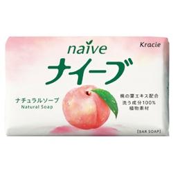 kracie 葵緹亞 沐浴清潔-桃葉天然香皂