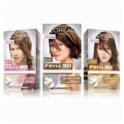 染髮‧燙髮產品-日本紛瑩專業染髮組 Feria 3D