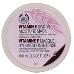 The Body Shop 美體小舖 保養面膜-維他命E抗氧化保濕面膜 VITAMIN E SINK-IN MOISTURE MASK