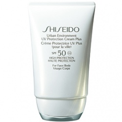 SHISEIDO 資生堂-專櫃 身體防曬-都會防晒乳SPF50 Urban Environment UV Protection Cream Plus SPF50