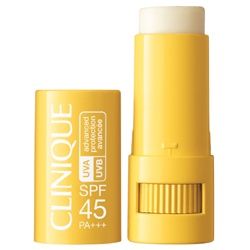 CLINIQUE 倩碧 唇部保養-全陽防曬膏 SPF45 PA+++ SPF 45 Targeted Protection Stick