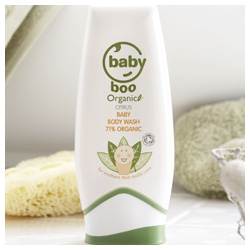 Baby Boo Organic 身體清潔保養系列-有機柑橘沐浴露 Citrus Baby Body Wash