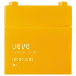 DEMI UEVO 積木造型系列-橘黃積木圓潤髮臘 Round wax