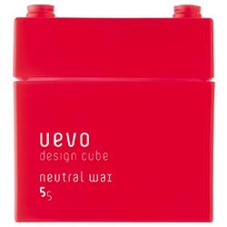 DEMI UEVO 積木造型系列-紅積木中性髮蠟 Neutral wax