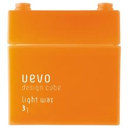 DEMI UEVO 積木造型系列-橘積木輕髮蠟 Light wax