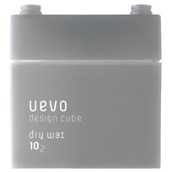 DEMI UEVO 積木造型系列-灰積木乾髮蠟 Dry wax