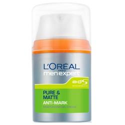 L`OREAL PARiS 巴黎萊雅 乳液-純淨控油戰痘平痕保濕乳液 PURE & MATTE ANTI-MARK Moisturizing Gel Cream