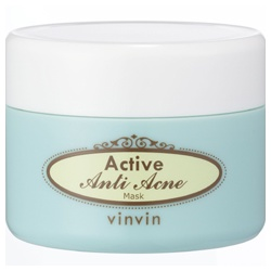 vinvin 魔法美肌學苑 淨痘系列-抗痘淨脂粉刺面膜 Active Anti Acne Mask