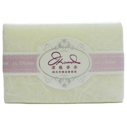 J.L. Chanel 潔龍香奈 洗顏-純天然精油香氛皂(回眸) J.L.chanel-white