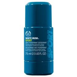 The Body Shop 美體小舖 爽身‧制汗-男士活力麝香體香露 White Musk Sport Anti-Perspirant Deodorant