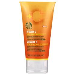 The Body Shop 美體小舖 維他命C-維他命C活膚隔離乳SPF30 Vitamin C Moisturiser SPF30