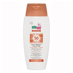 Seba med 施巴 防曬‧隔離-防曬保濕乳液 SPF50 Multi Protect Sun Lotion SPF50