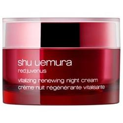 shu uemura 植村秀 乳霜-紅の活妍肌精賦活晚霜 red:juvenus vitalizing renewing night cream