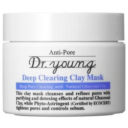Dr.young 3D全效毛孔緊緻系列-深層淨化保濕泥面膜 Deep Clearing Clay Mask