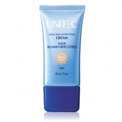潤色隔離防曬霜(自然膚色)SPF45 ★★★ UNITEC Ultra Sun Protection Cream SPF45 ★★★