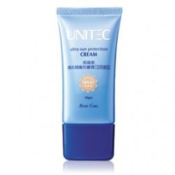 潤色隔離防曬霜(自然膚色)SPF45 ★★★ UNITEC Ultra Sun Protection Cream SPF45 ★★★