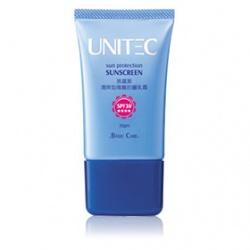 清爽型隔離防曬乳霜SPF30 ★★★★ UNITEC Sun Protection Sunscreen SPF30 ★★★★