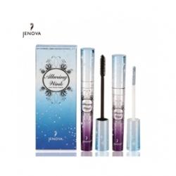JENOVA 睫毛膏-魔力飛揚-魅惑眼色超濃密纖長睫毛膏