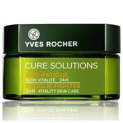 Yves Rocher 伊夫‧黎雪 深呼吸新生瞬效系列-深呼吸24小時瞬效活力 醒膚霜 CURE SOLUTIONS 24H Vitality Skin Care Anti-Fatigue