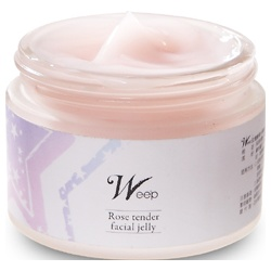 Wee`p  保養面膜-玫瑰嫩膚水凍膜