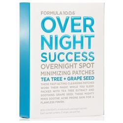 面皰專用透明無痕貼 OVER NIGHT SUCCESS OVERNIGHT MINIMIZING PATCHES