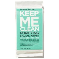 10.0.6淨透方程式 清潔卸妝系列-深層潔淨控油淨白卸妝棉 KEEP ME CLEAN CLARIFYING FACIAL WIPES