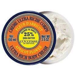 L'OCCITANE 歐舒丹 乳油木果油-乳油木杏桃花保濕身體霜 Apricot Flower Ultra Rich Body Cream