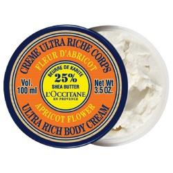 乳油木杏桃花保濕身體霜 Apricot Flower Ultra Rich Body Cream