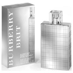 BURBERRY 香水系列-2010 風格女性淡香精金屬限量版 BRIT FOR WOMEN LIMITED EDITION CLEAR HD