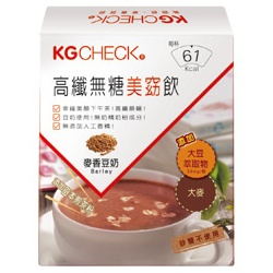 KG CHECK  營養補給食品-高纖無糖美窈飲-麥香豆奶