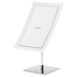 Giorgio Janeke 24K金與鉻銀系列-純淨透白方型桌面鏡